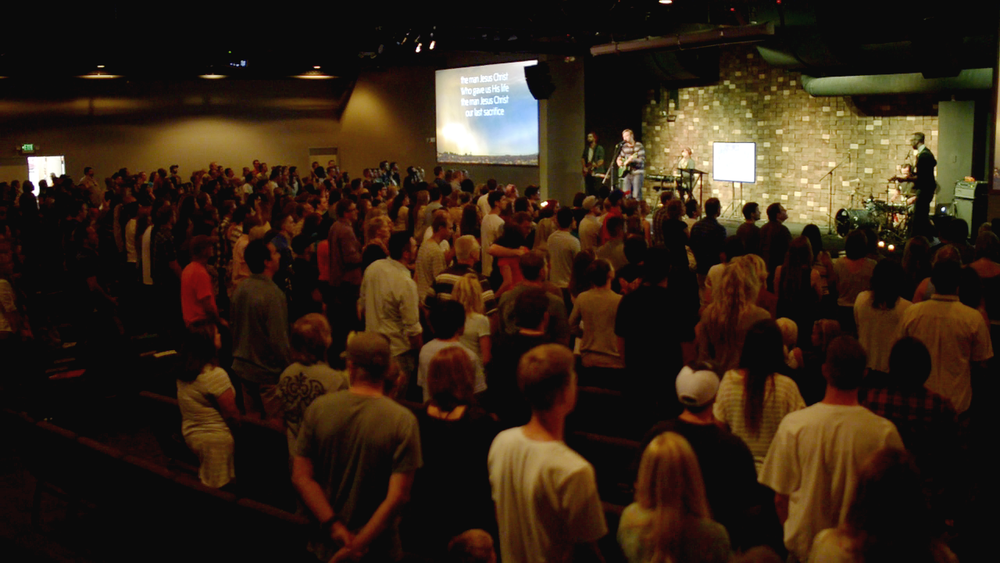 Congregation at Living Stones Church