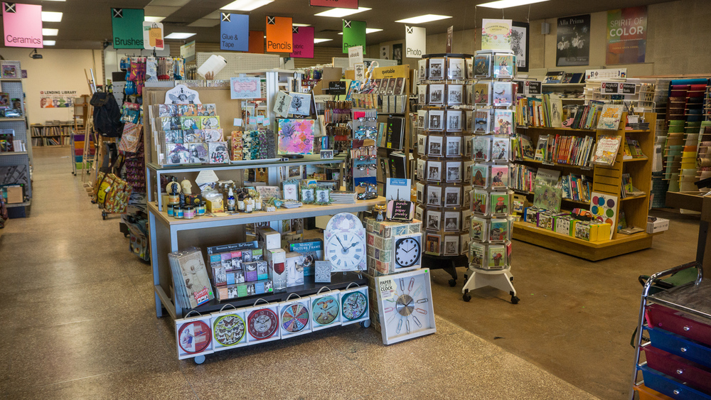 Nevada Fine Arts store interior