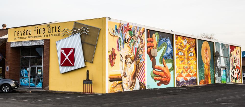 Nevada Fine Arts store exterior