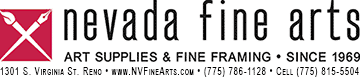 Nevada Fine Arts logo
