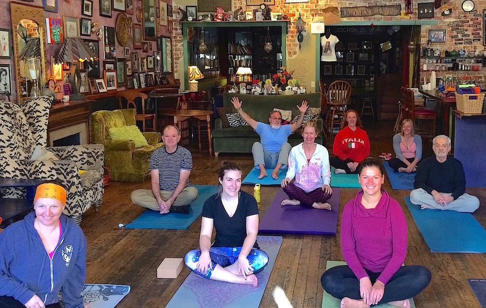 Community Yogi class