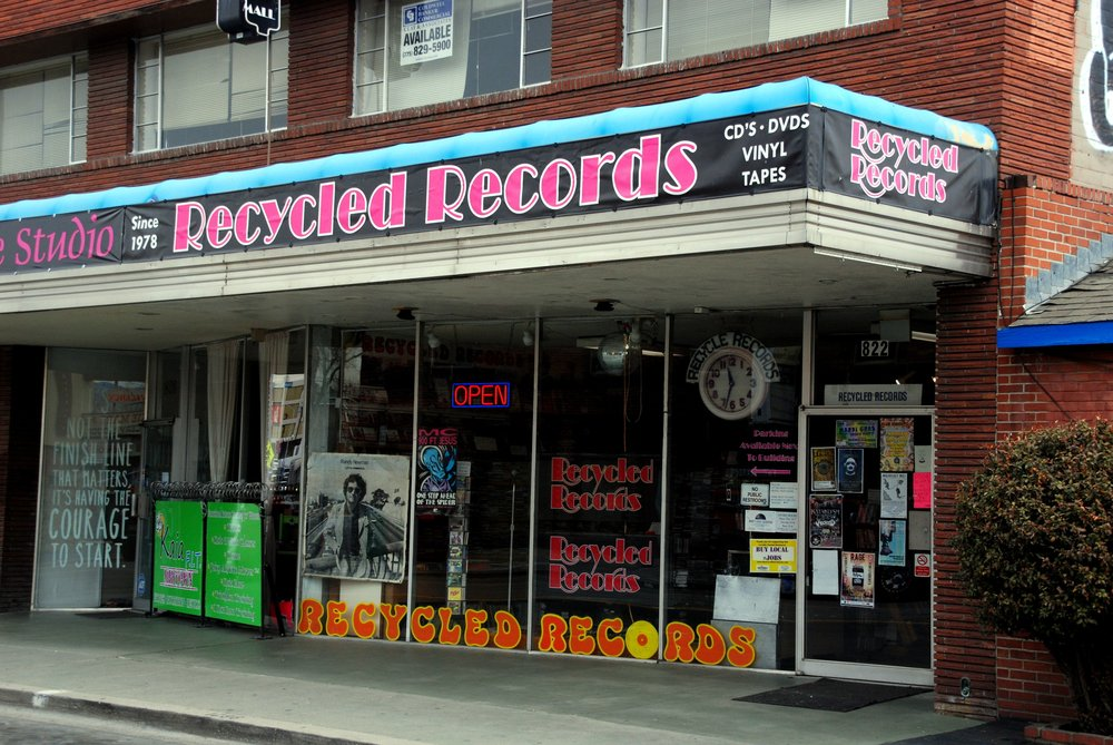 RECYCLED RECORDS   $2 off any purchase $10 or more!