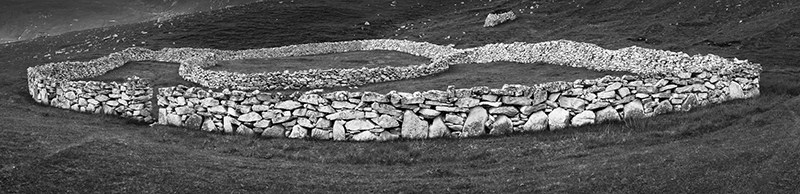 "© 2016 Mark Maio ""Stone Corral, St. Kilda, Scotland"""
