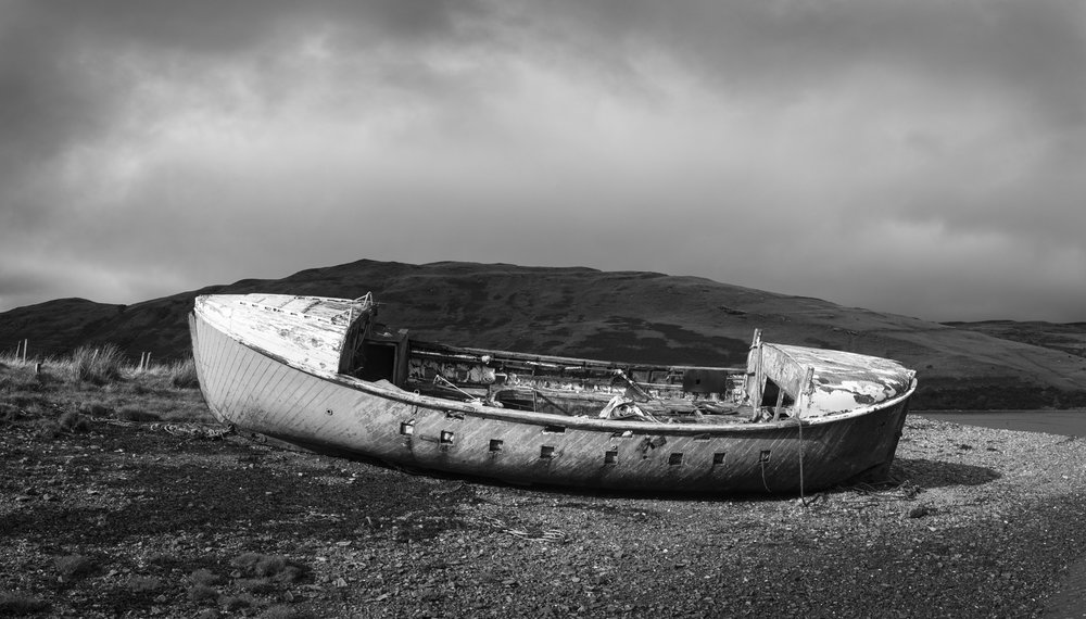 "© 2018 Mark Maio ""Carbost Boat, Isle of Skye, Scotland"