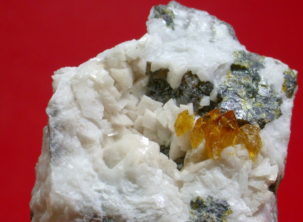 Baryte - NFLD Zinc Mine, Daniel's Harbour, Newfoundland