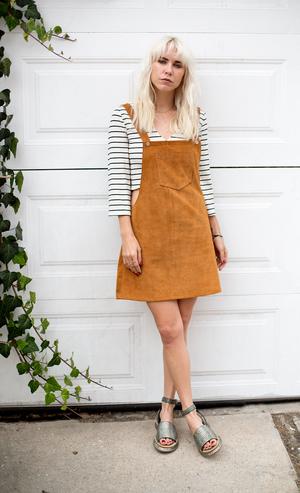 910cd45cde7 AlwaysJudging Mini Skirt Overalls — Cheyann Benedict