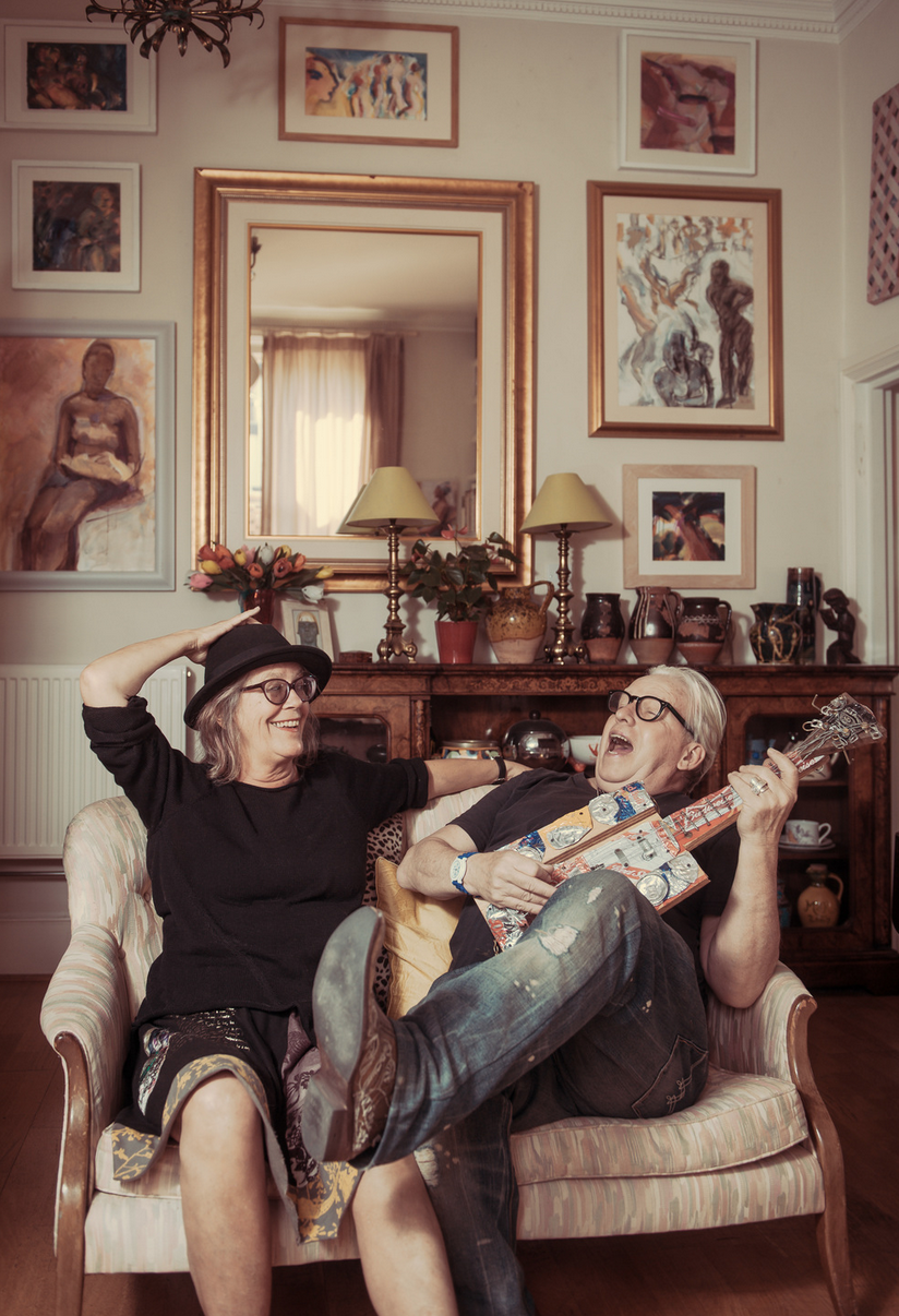 Ken & Margot Cox © 2014 Daniel Lewis