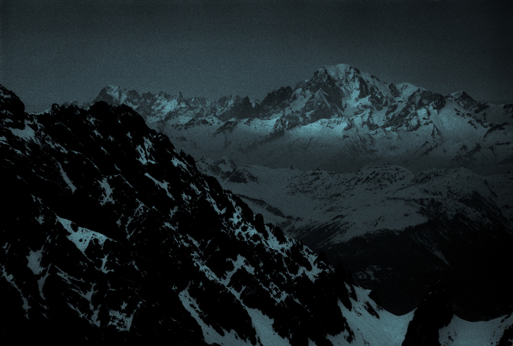 Mont Blanc - March 2014