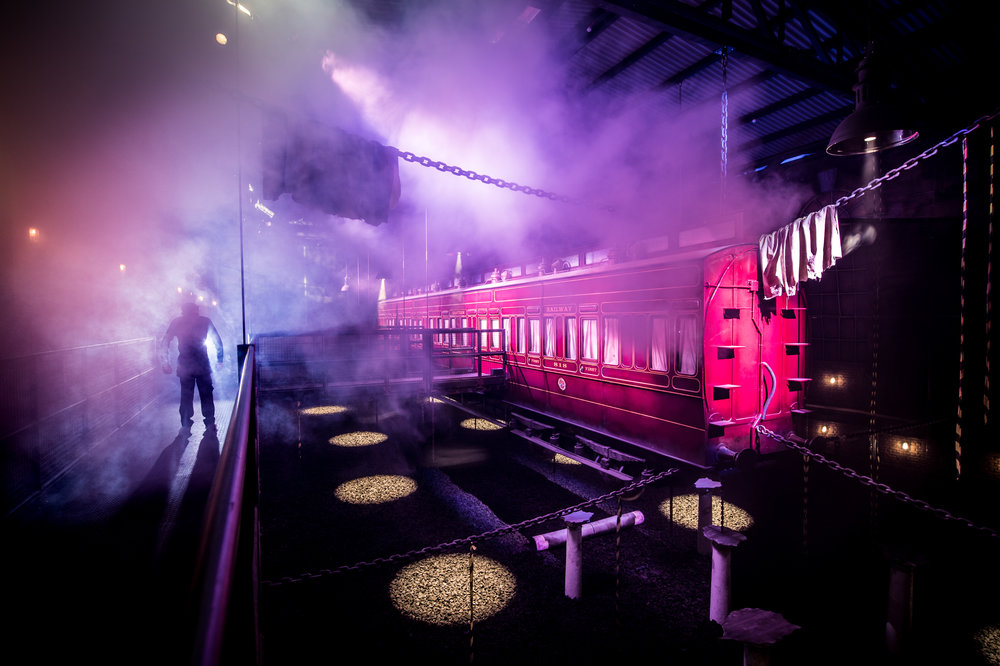 Derren Brown's Ghost Train