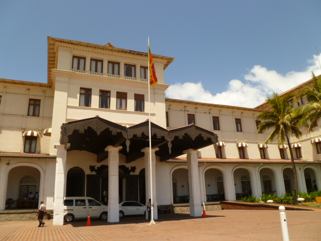The Galle Face Hotel.