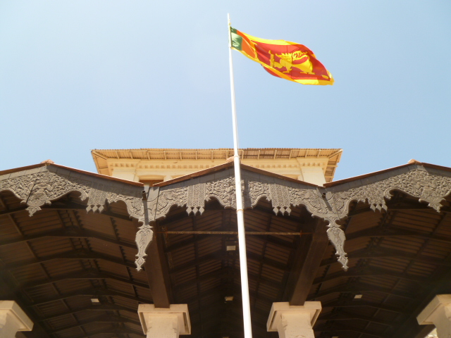 Incredible British/Sri Lankan fusion in the details of this architecture. Also, I'm pretty partial to lions but I think Sri Lanka has one of the coolest flags. Ethiopia has a really cool lion on theirs, too.