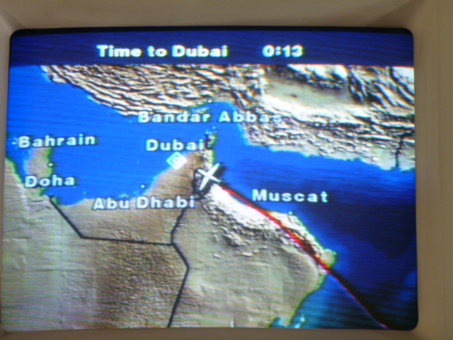 It's possible that I love the in-flight map more than the in-flight entertainment..