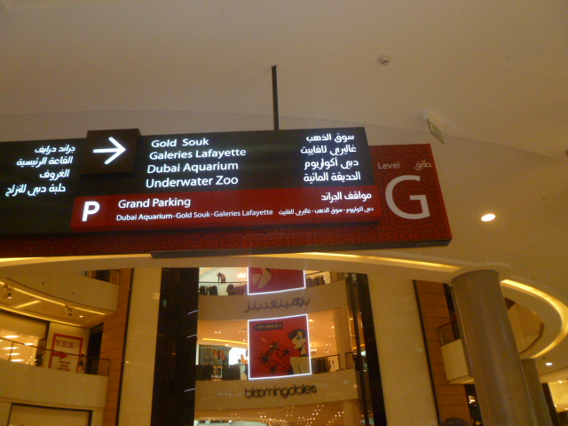 Everything you need and more in this mall. Only in Dubai.
