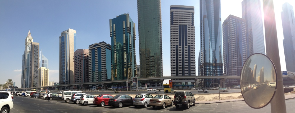Sheikh Zayed Road, Taken in 2012 on my iPhone.