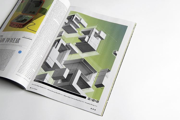 Wired Magazine — Karnes Coffey Design