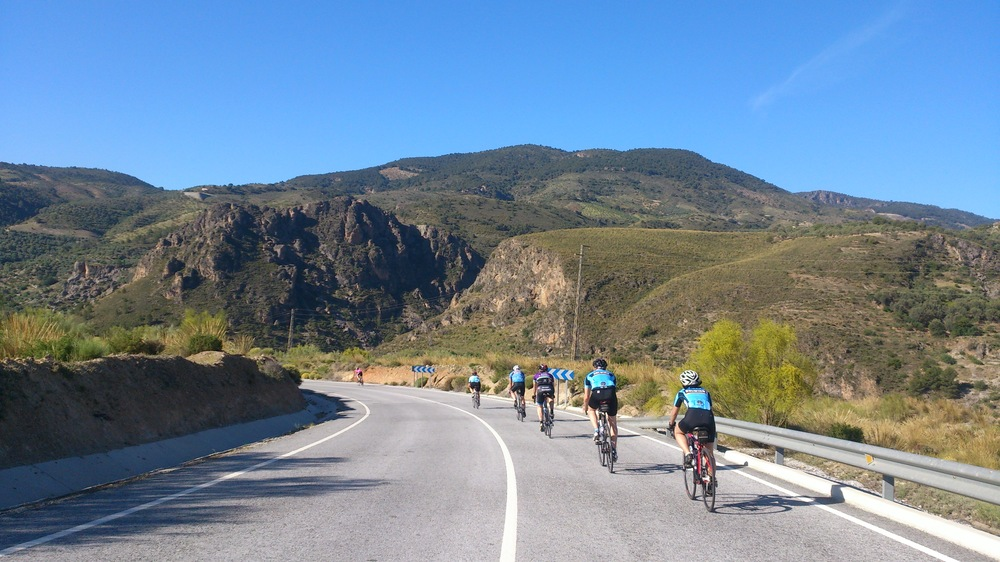 Road Cycling Training Camp 2016 Andalucia Spain Malaga Granada Road Cycling Holiday
