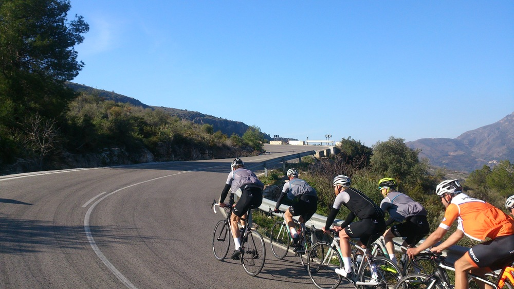 Road Cycling Training Camp 2016 Andalucia Spain Malaga Granada