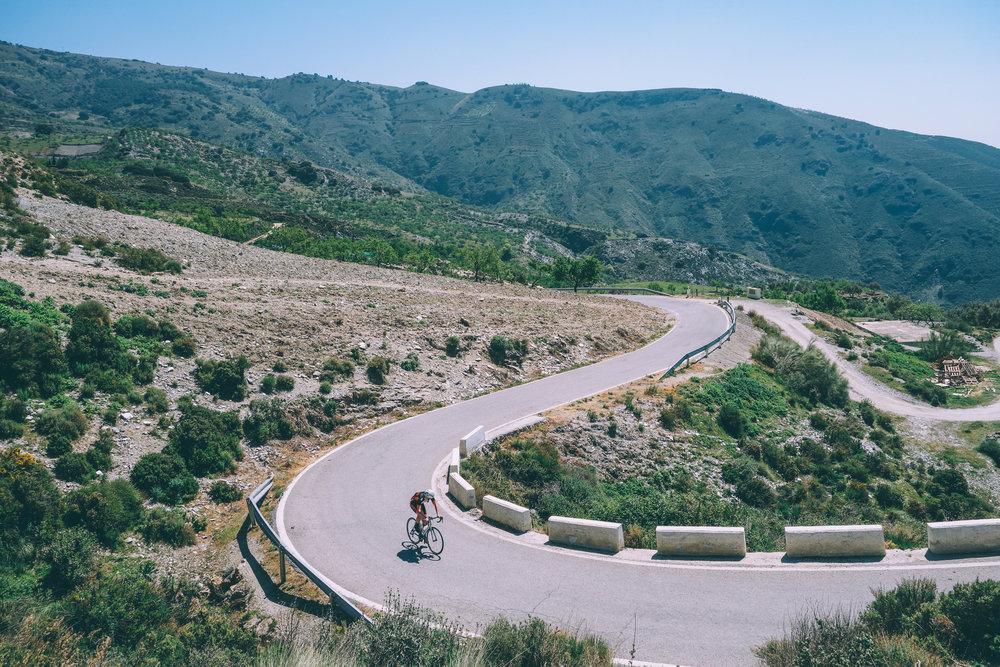 Haza del Lino climb, Castell de Ferro