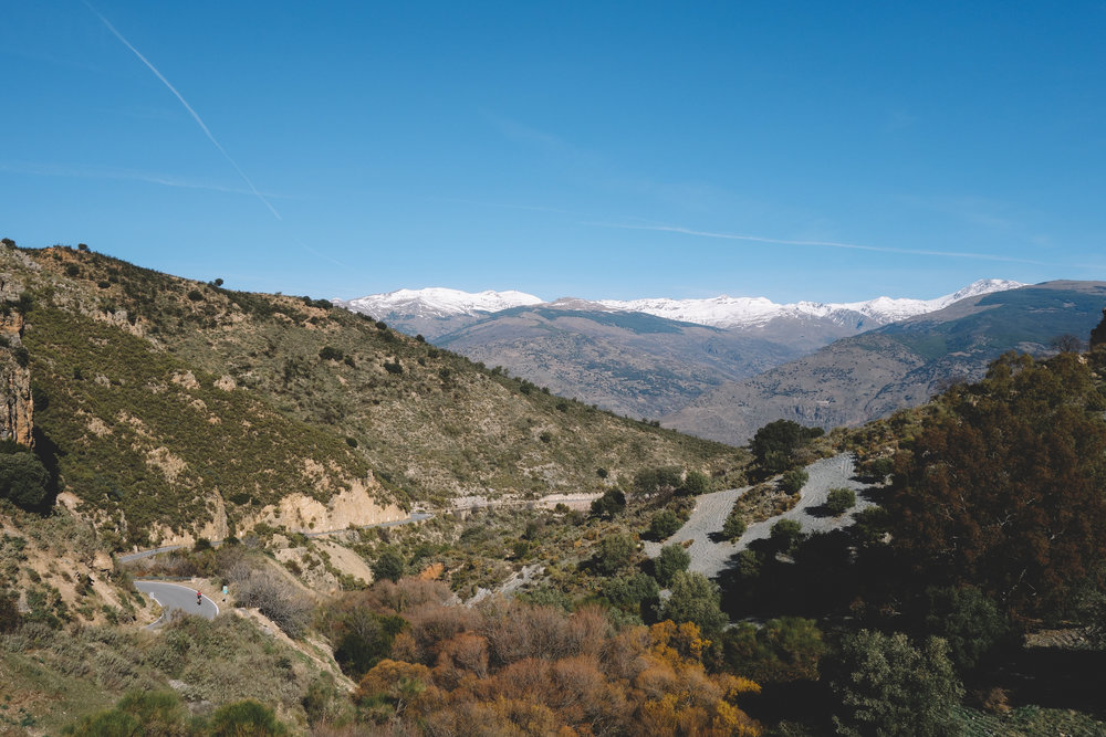 sierra nevada haza del lino cycling climbs andalucia spain spring