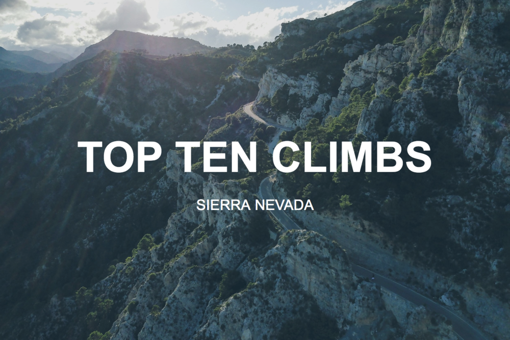 TOP TEN CYCLING CLIMBS IN SPAIN