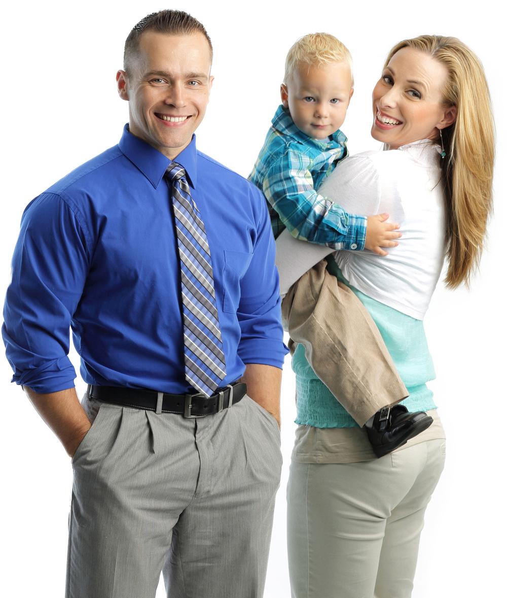 Dr. Ryan, Dr. Jessica & son Isaius