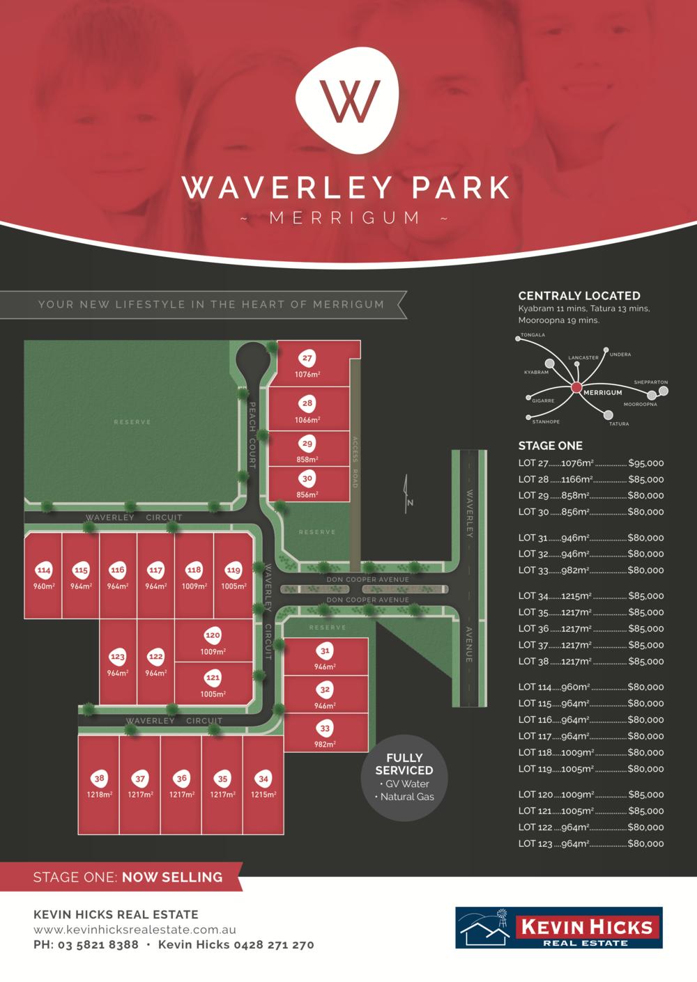 Waverley Park Estate - Promotional Fyler