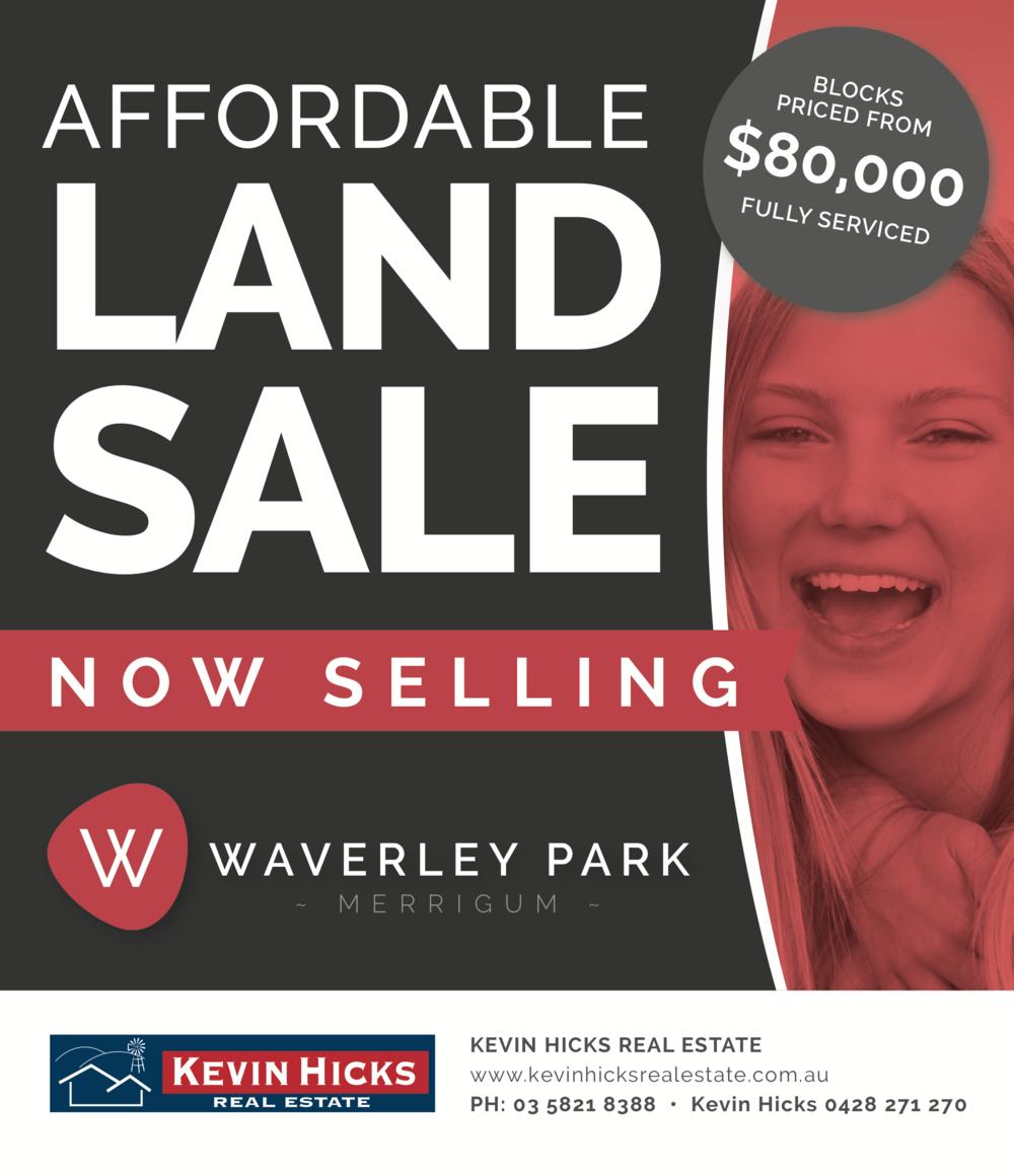 Waverley Park Estate - Press Advert