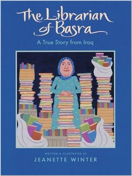 The Librarian of Basra by Jeanette Winter - see the full review here.