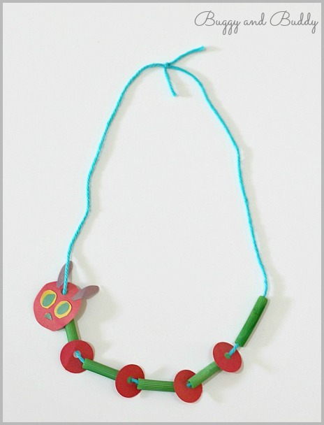 This very cool macaroni necklace is from Buggy and Buddy.