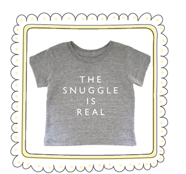 Copy of THE SOFTEST LITTLE TEE EVER! US$25
