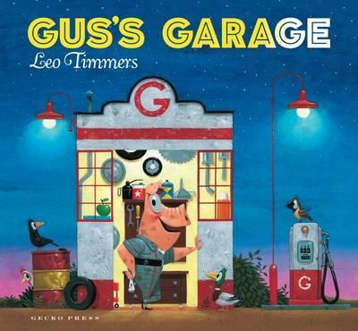 A fun rhyming book about a quirky garage where unexpected 'bits and bobs' solve all sorts of motoring problems.