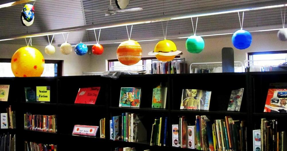 Solar System in the Library