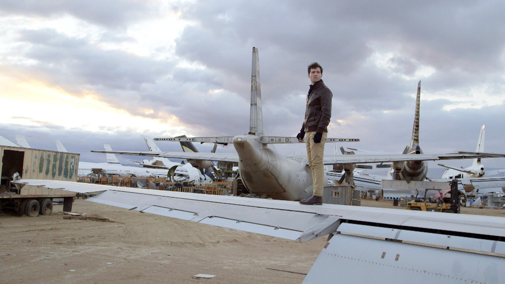 ALAN DUFFY EXPLORNG THE BONEYARD, MOJAVE AIR & SPACE PORT.jpg