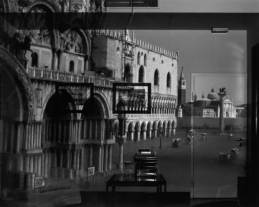 Abelardo Morell - Right Side Up, Camera Obscura Image of San Marco in Office, 2007.jpg