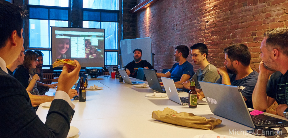 Pizza, beer, and code - Laravel Montreal Meetup - Laravel Montreal Coding Night #3 - 20150702 C0038.jpg