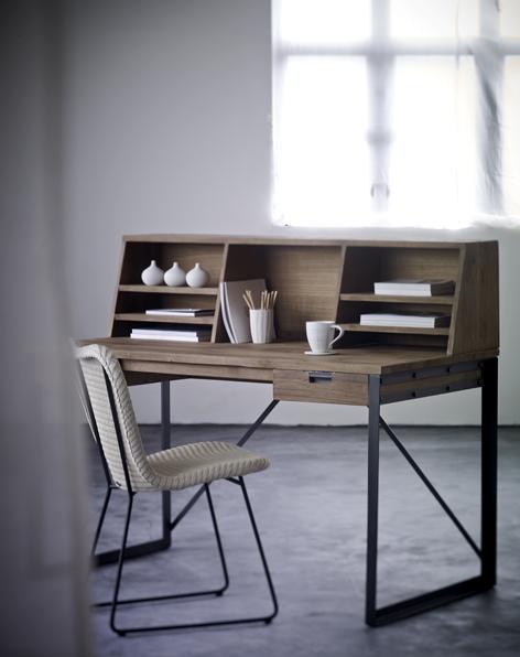 TREE fendy writing desk + rack + jim chair black powder coated legs.jpg