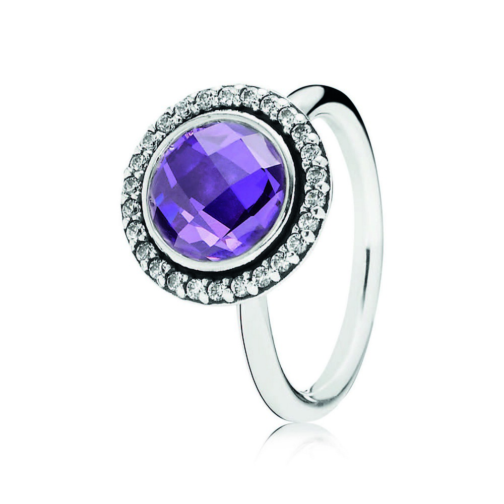 PANDORA_Spring 2014_Silver Cocktail Ring with Purple Cubic Zirconia_HK$999.jpg