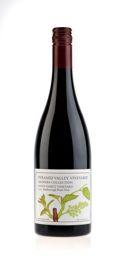 Pyramid Valley Eaton Family Pinot Noir 2007 - Marlborough WA 92+