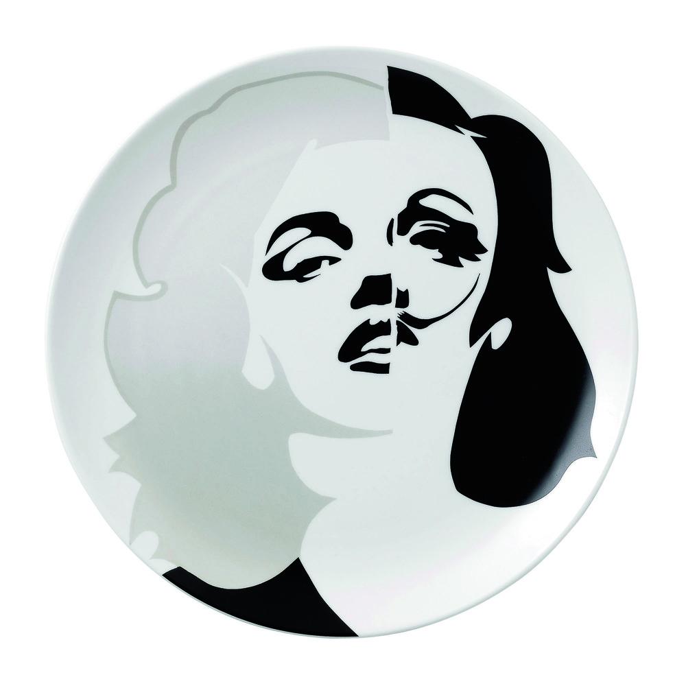 Street Art - Pure Evil Plate 27cm Marilyn Marlene HK$800.jpg