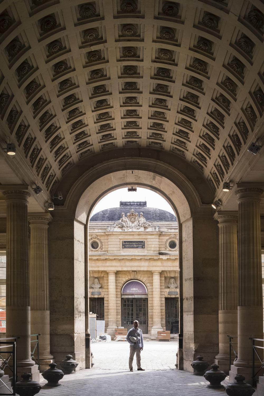 Crédit :11 Conti de la Monnaie de Paris Vestibule Philippe Prost, architecte / AAPP © adagp – 2017 © Aitor ORTIZ