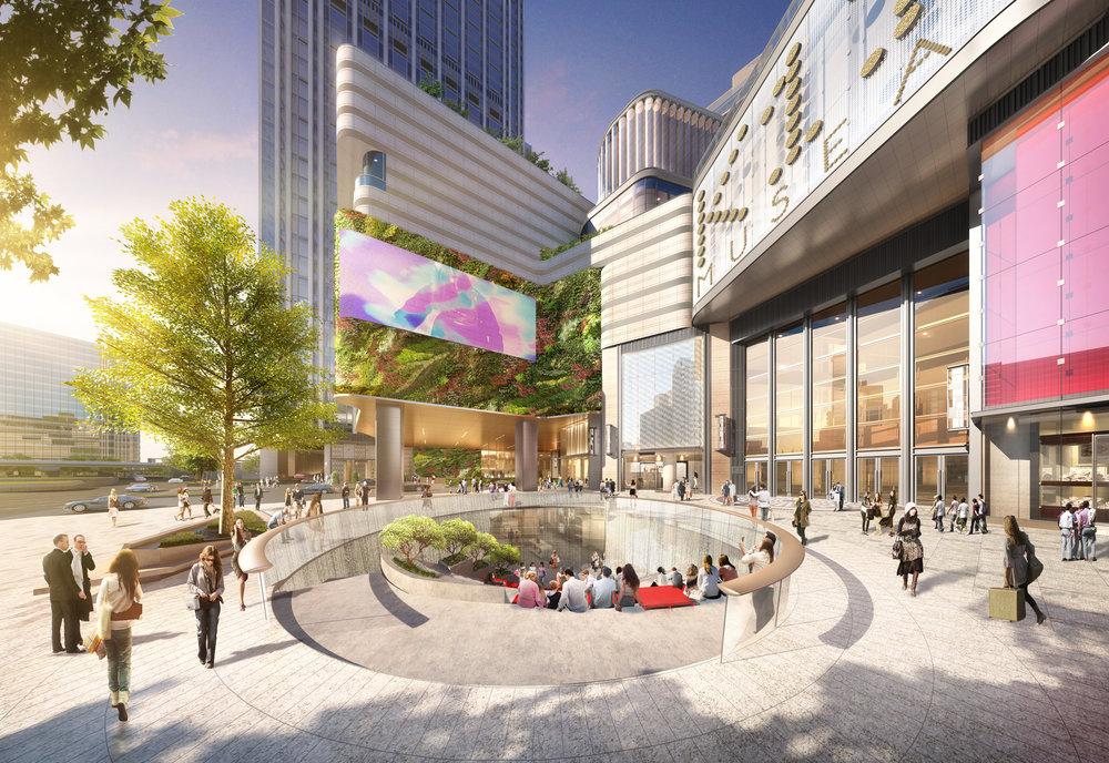 Sunken Plaza of K11 MUSEA_1.jpg