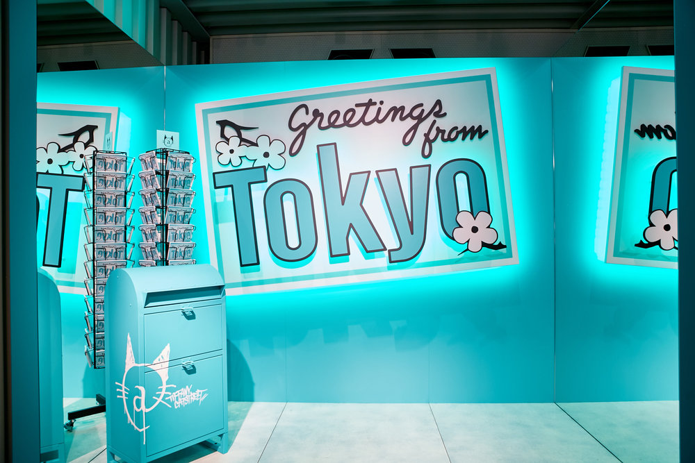 Visitors will be able to indulge in a number of unique experiences such as a Style Studio where stylists can work with clients to explore creative style combinations and looks, a personalization counter for custom engraving while you wait, a fragrance vending machine or a specially arranged photo app.