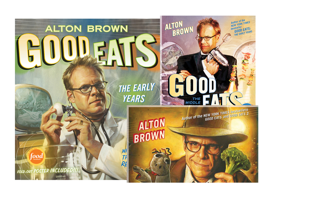 Good Eats book series -   Good Eats, Good Eats 2, Good Eats 3