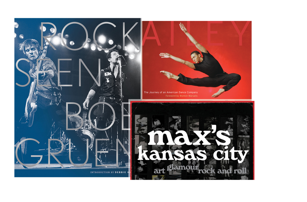 Art and entertainment -   Rock Seen, Ailey Spirit, Max's Kansas City