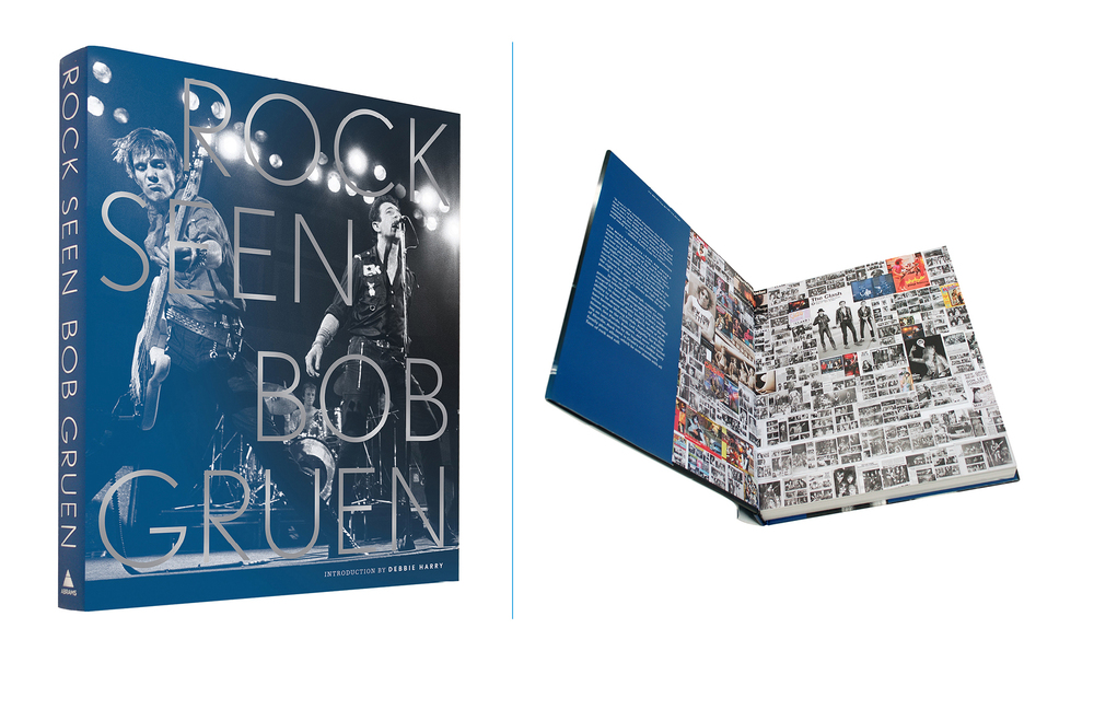 Rock Seen -  10 X 12 in., 288 pg., hardcover with jacket, foil stamped title. Design; Galen Smith // Publisher; Abrams Books