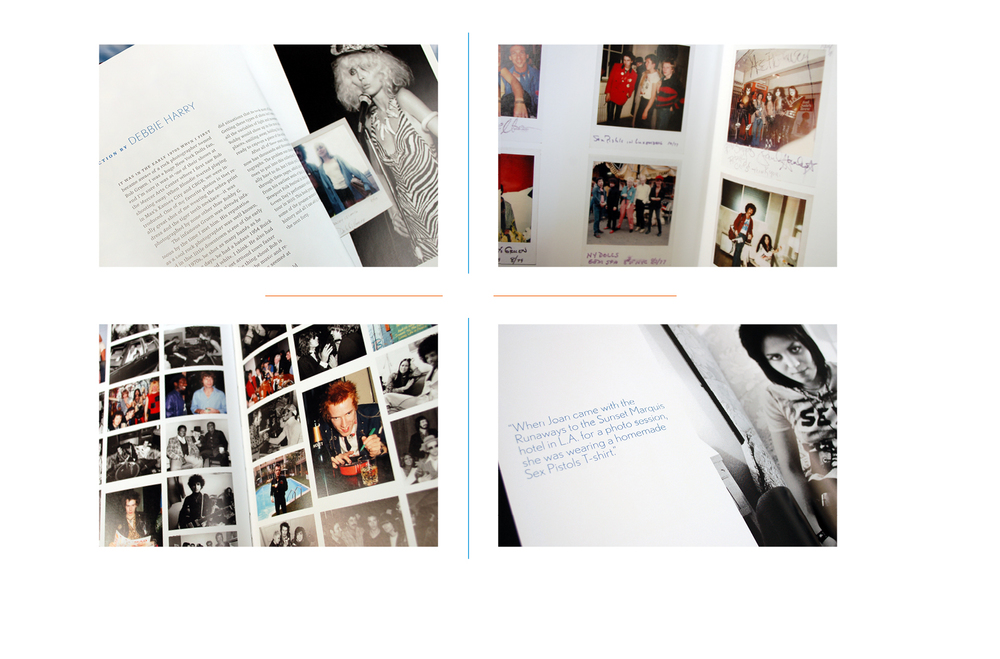 Interior details -  Foreword // Polaroids // Photo grid // Author's comment
