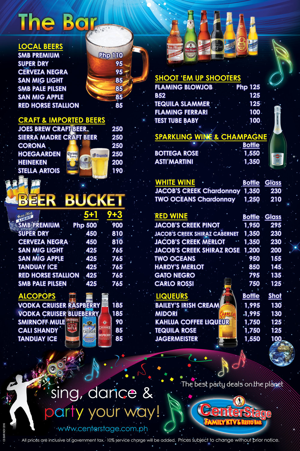 cs bar menu p1 generic