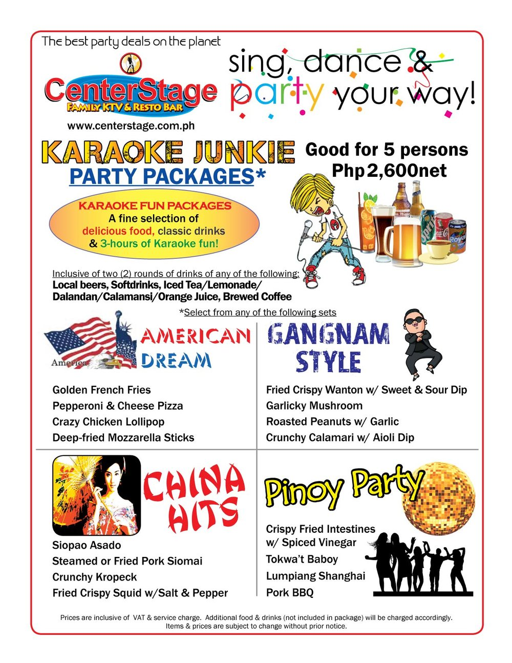 Party world ktv deals