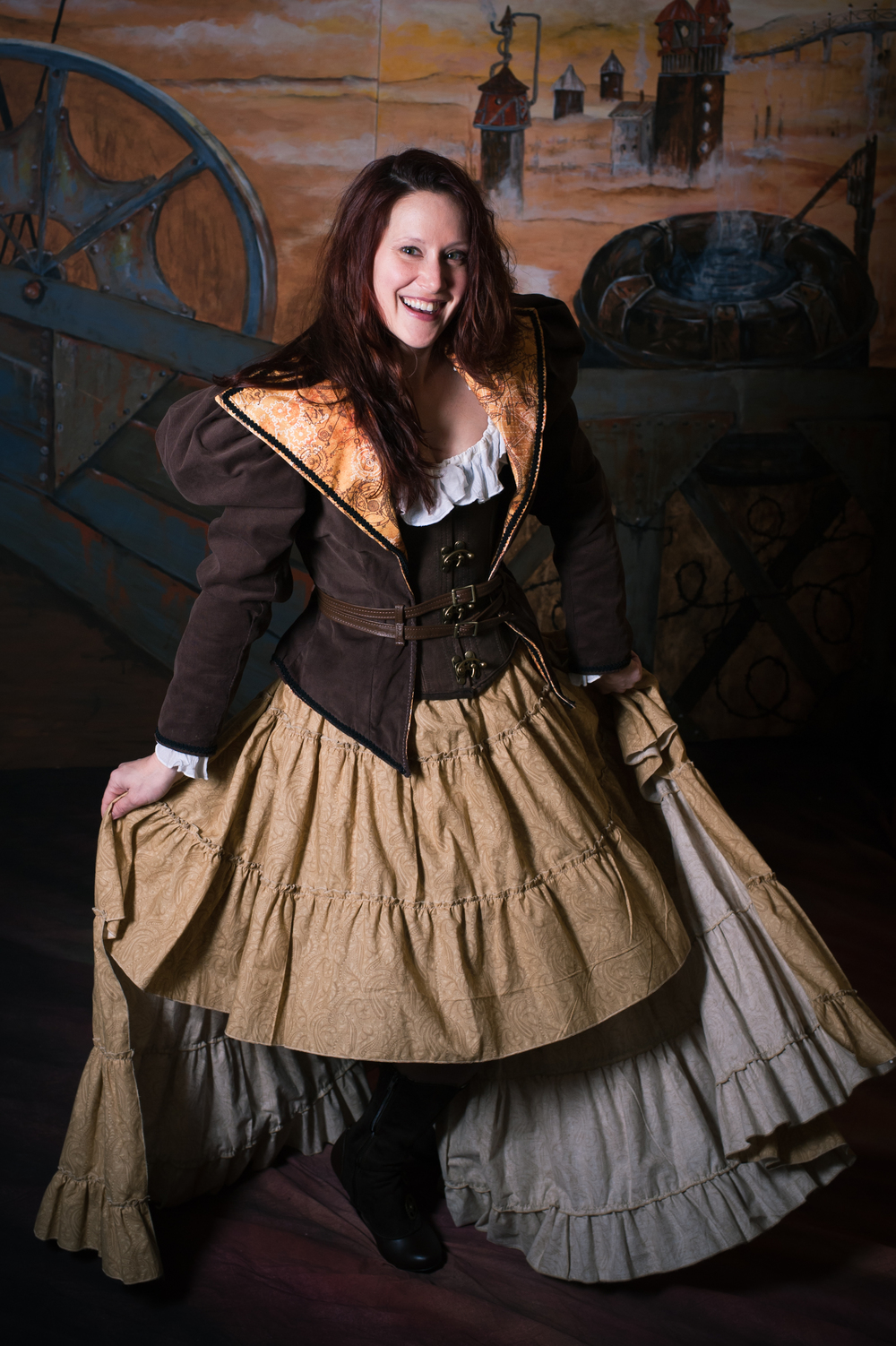 Victorian Steampunk Vests