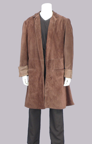 Brown Suede Coat — Pendragon Costumes